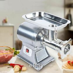 1.5 HP 1100 watts Commercial Grade Meat Grinder Cutting Stainless Steel Tool