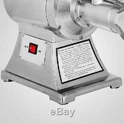 1.5HP Commercial Meat Grinder Sausage Stuffer Electric Stainless Steel Automatic