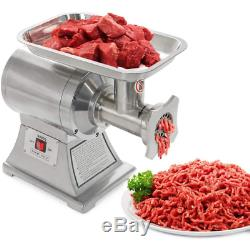 1 Hp Stainless Steel Industrial Portable Electric Meat Grinder Mincer Sausage St