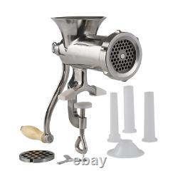 10 Heavy Duty Stainless Steel Clamp on Style Hand Grinder NEW