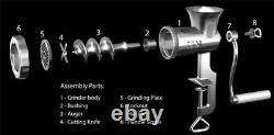 #10 Stainless Steel Meat Grinder Meat Grinding 61210