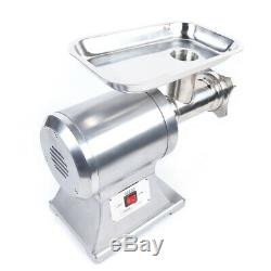 1100W 1.5HP Electric Grade Meat Grinder Sausage Stuffer Food Mincer Stainless