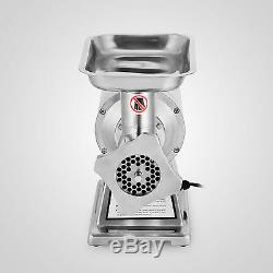 1100W Commercial Meat Grinder Sausage Stuffer Mincer Kitchen Stainless Steel