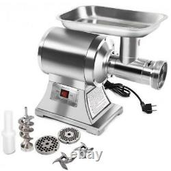 1100W Stainless Steel Heavy Duty #22 Electric Meat Grinder