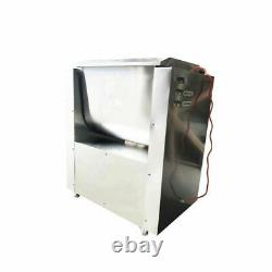 110V 1.5Kw 40L Stainless steel Automatic Multifunctional Electric Meat Mixer New