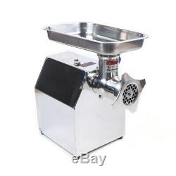 110V 850W Commercial Stainless Steel Meat Grinder Blade Plate Sausage Stuffer