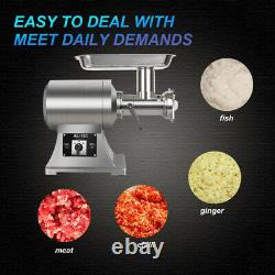110v 650W Commercial Electric Stainless Detachable head Meat Grinder Machine FDA