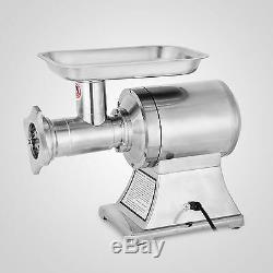 1HP Electric commercial Stainless Steel 450lbs Meat Grinder Blade Plate Sausage