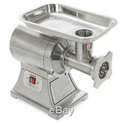 1HP Portable Electric Meat Grinder Mincer Ensue Stainless Steel Strong Motor