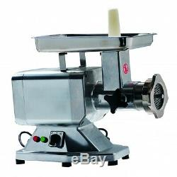 22# 1.5HP Heavy Duty Commercial Stainless Steel Electric Meat Grinder ETL/NSF