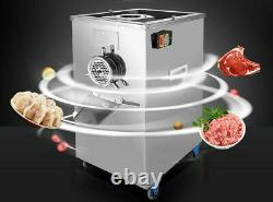 220V 2.2KW 304 Stainless Steel Electric Meat Grinder Feed Processer 400kg/h New