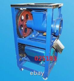 220V 2.2KW Stainless Steel And Steel Electric Bone Crusher Meat 200-230kg/h New