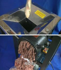 220V 3KW Stainless Steel Electric Bone Crusher Feed Processer Cutter 400-500kg/h