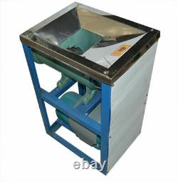 220V 4KW Stainless Steel Electric Bone Crusher Meat Cutter 500-600kg/h New Brand