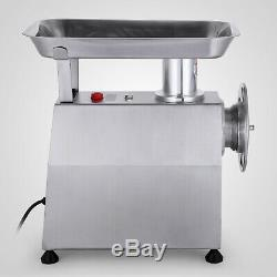 250KG/H Electric Meat Grinder Stainless Steel Meat Mincer 550lbs/h