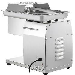 250KG Output Stainless Steel Meat Cutting Machine Meat Cutter Slicer Dicer