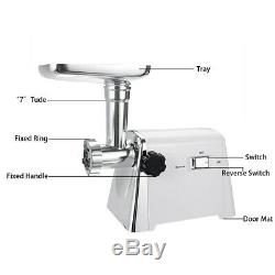 2800W Electric Meat Grinders Powerful Stainless Steel Meat Grinder Kitchen Home