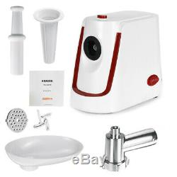 3000W Electric Meat Grinder Sausage Stuffer Maker Stainless Cutter Home White 5