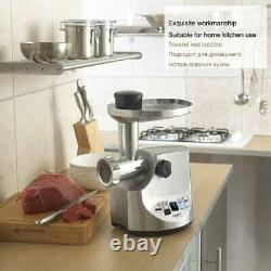 3000w Powerful Stainless Steel Electric Meat Grinders Home Sausage Stuffer Meat