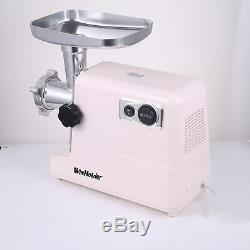 3500W Electric Meat Grinder Mincer Kibbe Maker Stainless Steel 3 Grinding Plates
