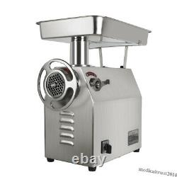 350Kg/H Commercial Electric Meat Grinder 1800W Stainless Steel for Restaurant