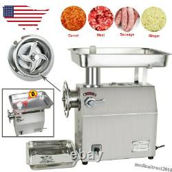 350Kg/H Commercial Electric Meat Grinder Machine Stainless Steel Restaurant Home
