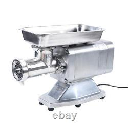 350kg/h Kitchen Electric Meat Grinder Commercial Stainless Steel Sausage Machine