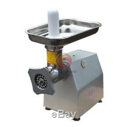 380v Commercial stainless steel 220kg/h Watt Electric Meat Grinder 0.9kw YQ-22B