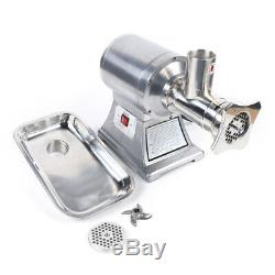 450 lbs/h Commercial Grade Meat Grinder Stainless Steel Heavy Duty 1.5HP 1100W