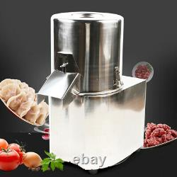 550W Electric Stainless Steel Commercial Meat Grinder Food Vegetable Chopper