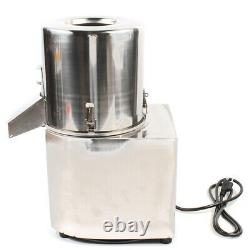 550W Electric Vegetable Meat Chopper Grinder Food Processor Machine Stainless US