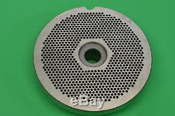 #56 x 1/8 holes STAINLESS Meat Grinder disc plate for Hobart 4056 Biro Berkel