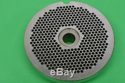 #56 x 3/16 holes STAINLESS Meat Grinder disc plate for Hobart 4056 Biro AFMG-56