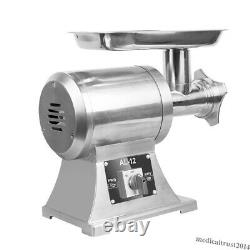 650W Commercial Electric Meat Grinder Sausage Stuffer Machine Stainless 150kg/H