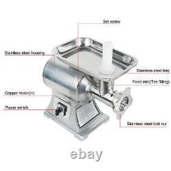 650W Commercial Electric Stainless Steel Small Household Meat Grinder Machine CE