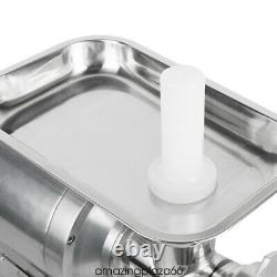 650W Commercial Household Electric Meat Grinder Meat Mincer Stainless Steel FDA
