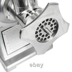 650W Electric Stainless Steel Small Household Meat Grinder Machine150kg/H USA