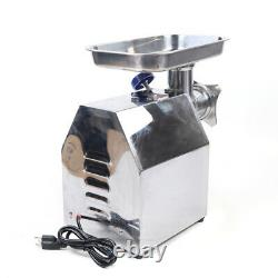 850W Commercial Stainless Steel Meat Grinder Home Kitchen for Sausage Making New