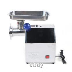 850W CommercialCross Whirlwind 3-Dimensional Stainless Steel Blades Meat Grinder