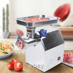 850W Electric Stainless Steel Meat Grinder Mincer Heavy Duty Capacity 170kg/h