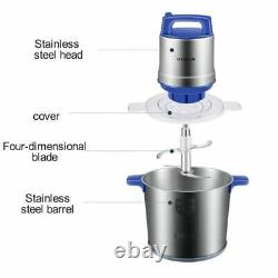 8l Stainless Steel Meat Mixer Electric Automatic Household Food Processor