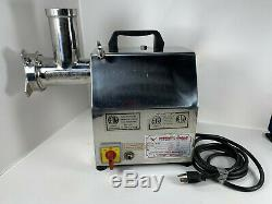 American Eagle AE-G12 Commercial Meat Grinder Stainless Steel 3/4 HP Nice Unit