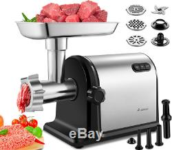 Aobosi Electric Meat Grinder 2000W Max Heavy Duty Stainless Steel Meat Min
