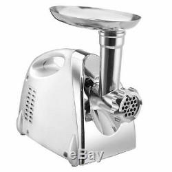 BEST WARE Electric 2800W Meat Grinder Powerful Stainless Steel For Kitchen