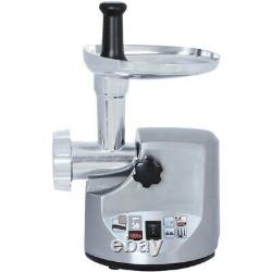 Brentwood MG-1800S Heavy-Duty Meat Grinder with 3 Stainless Steel Cutting Discs