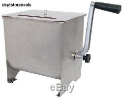 CHARD MM-102 Meat Mixer with Stainless Steel Hopper 20-Pound Seasoning Taste Body