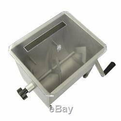 CHARD MM-102 Meat Mixer with Stainless Steel Hopper, 20 lbs