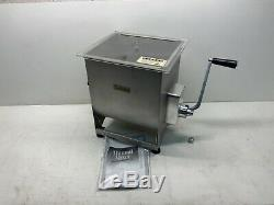 Cabelas Stainless Meat Mixer Attatchment for Commercial Grinders