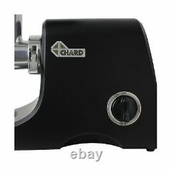 Chard FG1000B, 12 Heavy Duty Electric Food Grinder, Stainless Steel, Multicol