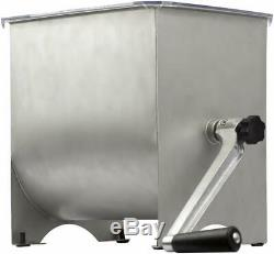Chard MM-102 Meat Mixer with 20lb Stainless Steel Hopper